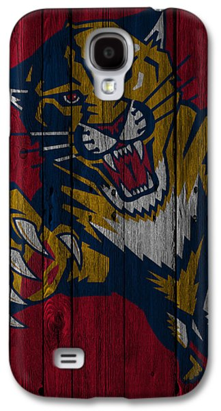Florida Panthers Wood Fence Galaxy S4 Case