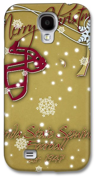 Florida State Seminoles Christmas Card 2 Galaxy S4 Case