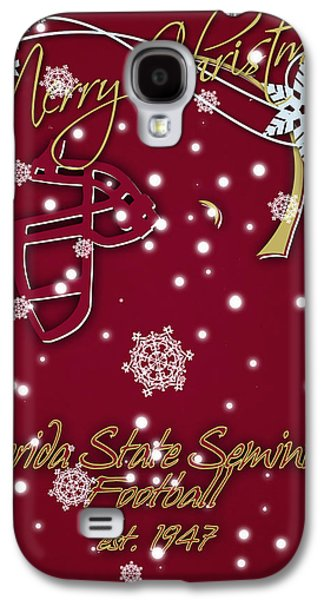 Florida State Seminoles Christmas Card Galaxy S4 Case