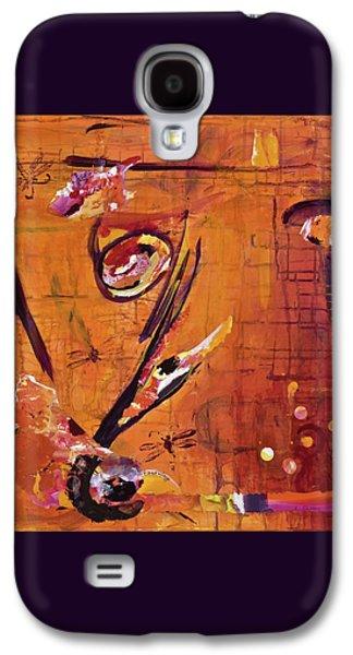 Flower Dragons Galaxy S4 Case by Joannie Eastridge
