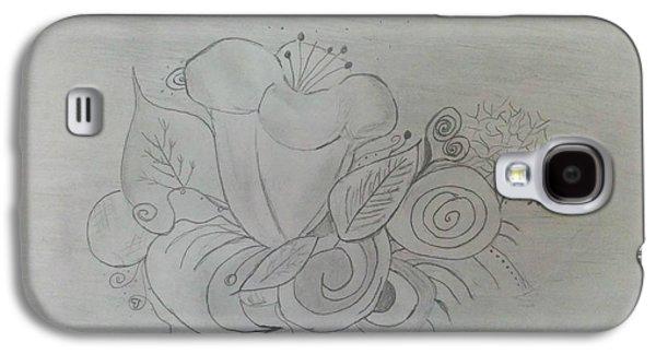 Flower Explosion Galaxy S4 Case by Nura Abuosba