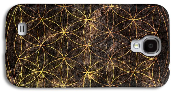 Flower Of Life 2 Galaxy S4 Case by Edouard Coleman