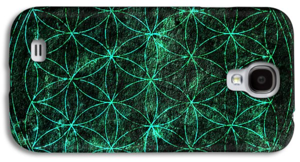 Flower Of Life 1 Galaxy S4 Case by Edouard Coleman