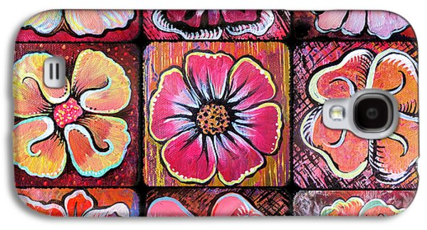Flower Power Montage Galaxy S4 Case by Shadia Derbyshire