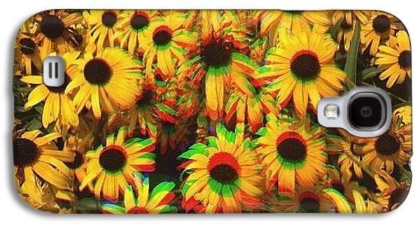 Edit Galaxy S4 Case - Flower Trip by Annie Walczyk
