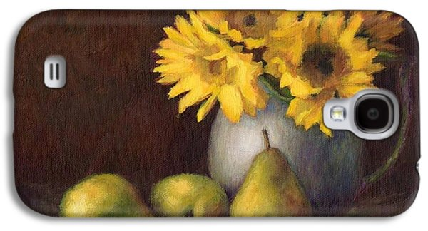 Flowers And Fruit Galaxy S4 Case by Janet King