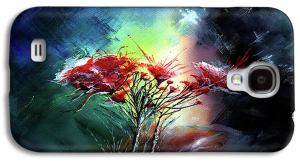 Flowers Galaxy S4 Case by Anil Nene