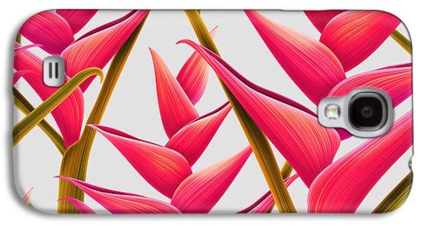 Flowers Fantasia   Galaxy S4 Case by Mark Ashkenazi