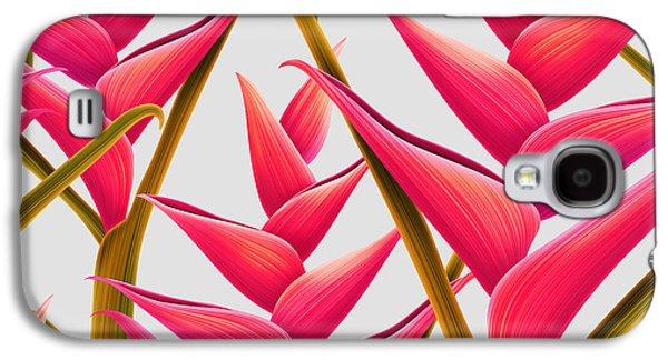 Flowers Fantasia   Galaxy S4 Case