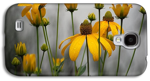 Flowers In The Rain Galaxy S4 Case by Robert Meanor