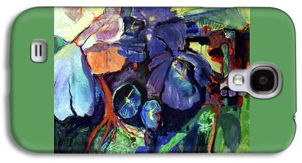 Flowers Galaxy S4 Case by International Artist Joan Litsey