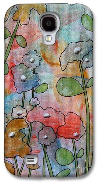 Flowers Galaxy S4 Case by Karla Gerard