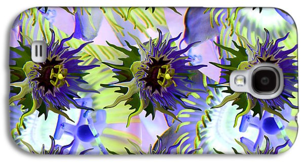 Flowers On The Wall Galaxy S4 Case by Betsy Knapp