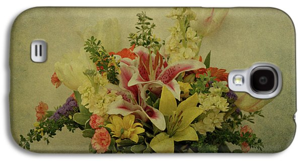 Indiana Flowers Galaxy S4 Cases - Flowers Galaxy S4 Case by Sandy Keeton