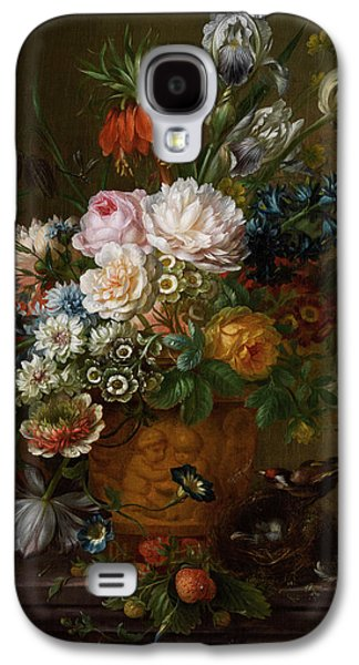 Flowers Still Life Galaxy S4 Case by Willem van Leen