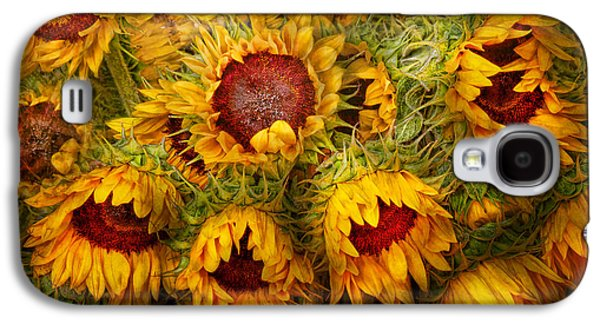 Genus Galaxy S4 Cases - Flowers - Sunflowers - Youre my only sunshine Galaxy S4 Case by Mike Savad