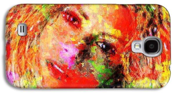 Flowery Shakira Galaxy S4 Case