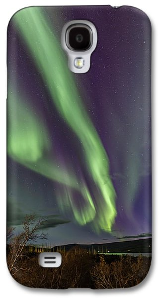 Flowing Aurora Galaxy S4 Case