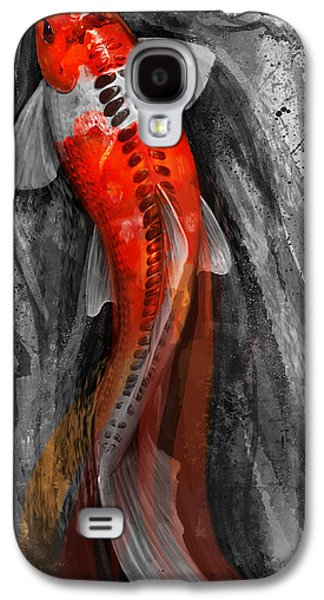 Flowing Koi Galaxy S4 Case by Steve Goad