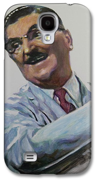 Floyd The Barber In Color Galaxy S4 Case by Tommy Midyette
