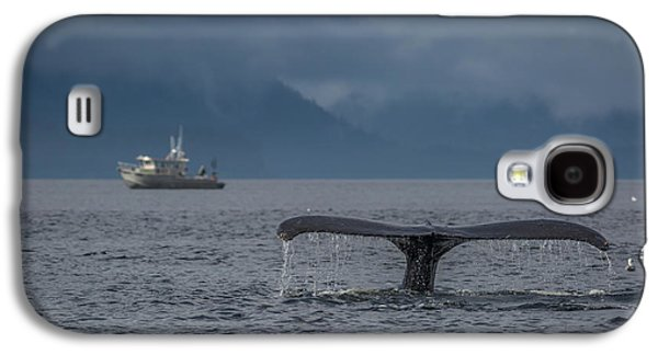 Fluke And A Fishing Boat Galaxy S4 Case
