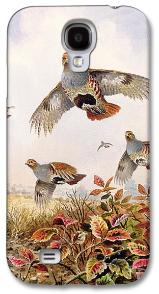 Flushed Partridges Galaxy S4 Case by Carl Donner