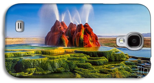 Fly Geyser Panorama Galaxy S4 Case