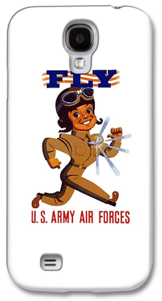 Fly - Us Army Air Forces Galaxy S4 Case by War Is Hell Store