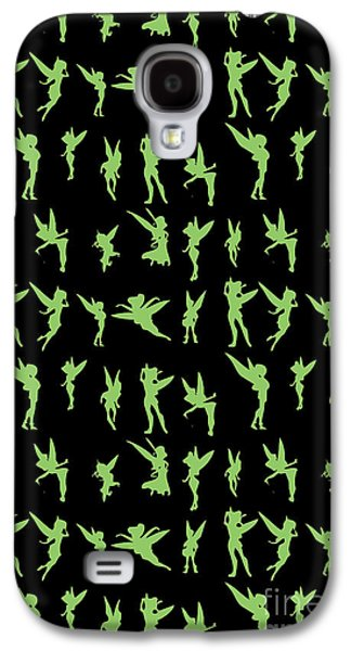 Flying Green Fairy Galaxy S4 Case by Naviblue