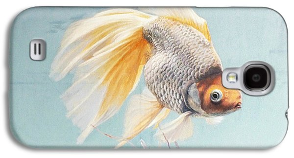 Flying In The Clouds Of Goldfish Galaxy S4 Case