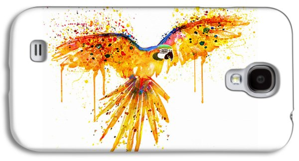 Flying Parrot Watercolor Galaxy S4 Case