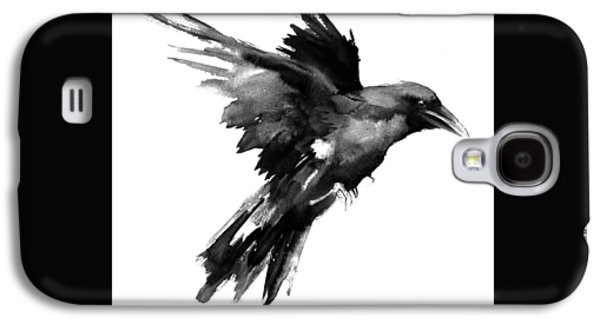 Flying Raven Galaxy S4 Case by Suren Nersisyan