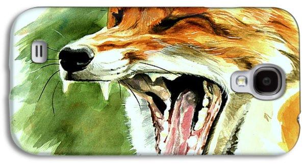 Flynn The Fox Galaxy S4 Case by Katharine Schafer