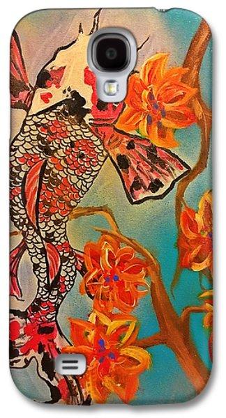 Focus Flower  Galaxy S4 Case by Miriam Moran