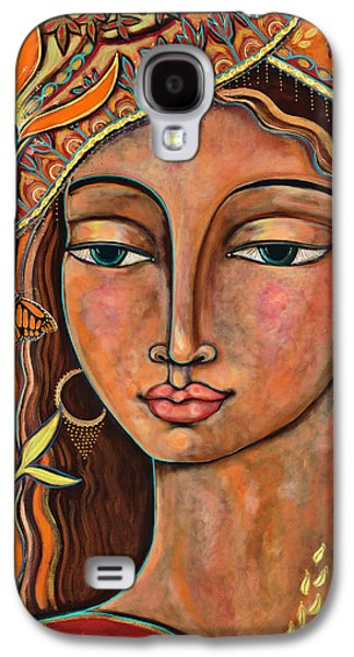 Rose Galaxy S4 Case - Focusing On Beauty by Shiloh Sophia McCloud
