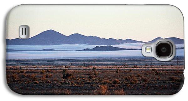 Fog In The Peloncillo Mountains Galaxy S4 Case
