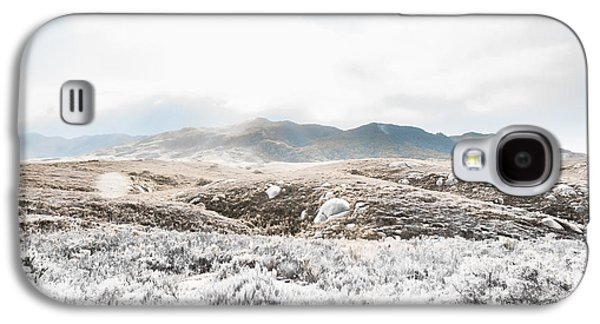 Fog Snow And Ice Landscape Galaxy S4 Case