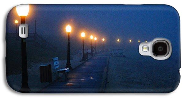 Foggy Boardwalk Blues Galaxy S4 Case