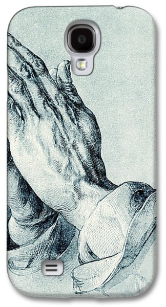 Folded Hands Of An Apostle Galaxy S4 Case