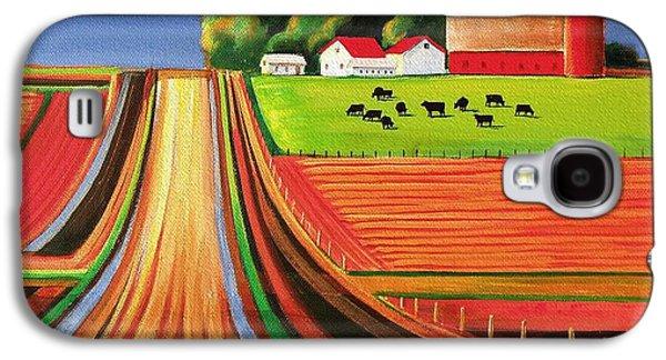 Folk Art Farm Galaxy S4 Case