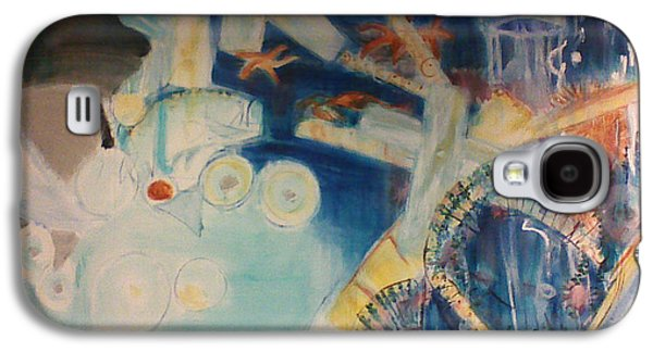 Food Chain From The Viewpoint Of Plankton Galaxy S4 Case by Lori Lazar