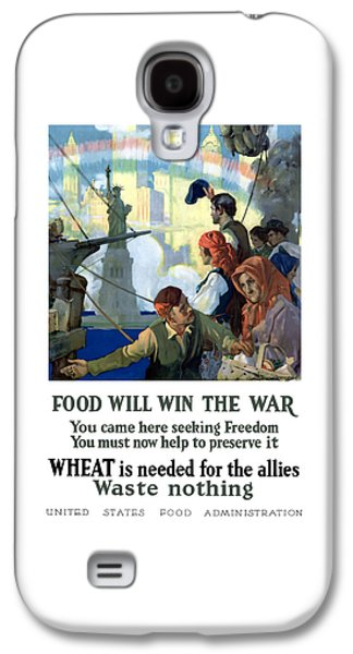 Food Will Win The War Galaxy S4 Case