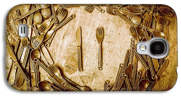 Foodies Circle Galaxy S4 Case by Jorgo Photography - Wall Art Gallery