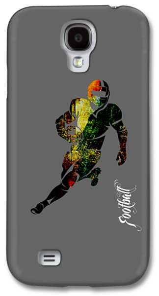 Football Collection Galaxy S4 Case by Marvin Blaine