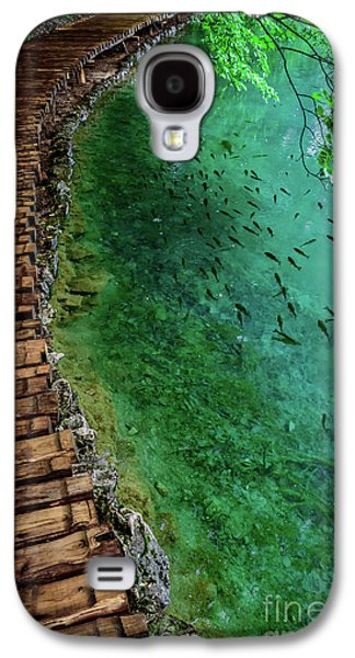 Footpaths And Fish - Plitvice Lakes National Park, Croatia Galaxy S4 Case