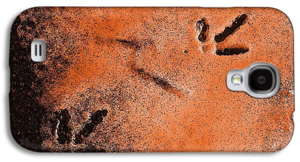 Footprints In The Snow Galaxy S4 Case