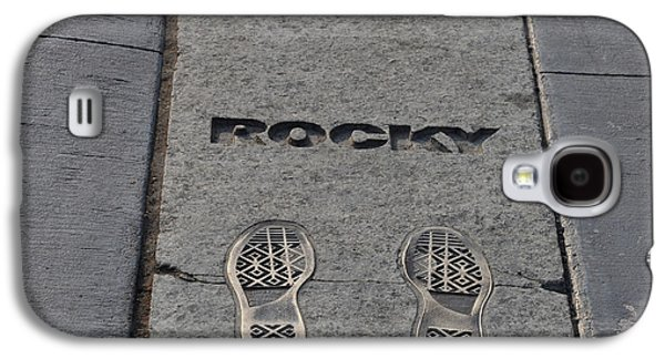Footsteps - Rocky Galaxy S4 Case by Bill Cannon