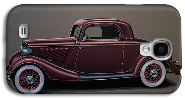 Ford 3 Window Coupe 1933 Painting Galaxy S4 Case by Paul Meijering