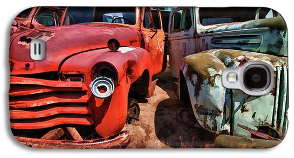 Ford And Chevy Standoff Galaxy S4 Case