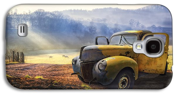 Ford In The Fog Galaxy S4 Case